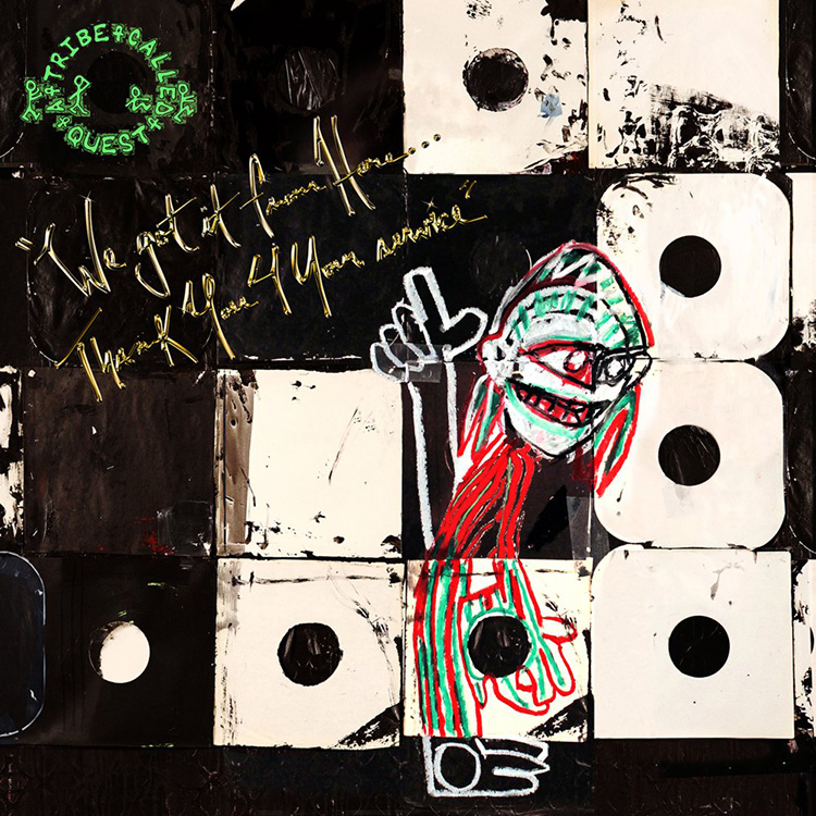 WE TAKE IT FROM HERE... THANK YOU 4 YOUR HELP, de A Tribe Called Quest