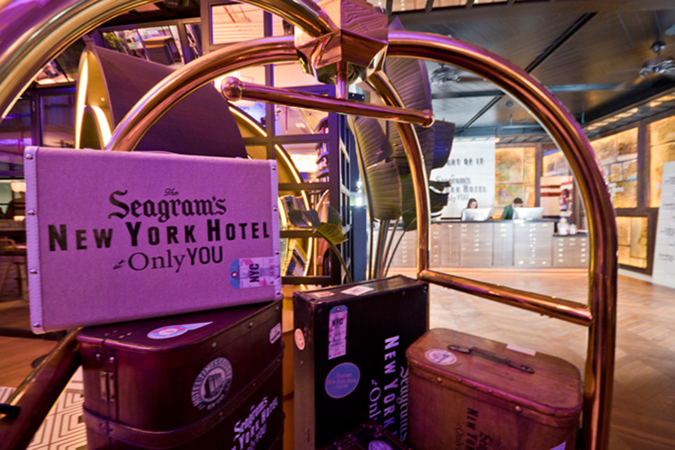 Seagram's NY Hotel at Only YOU