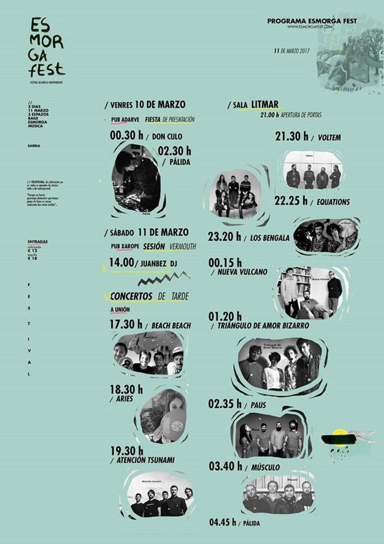 Esmorga Fest 2017 (cartel)