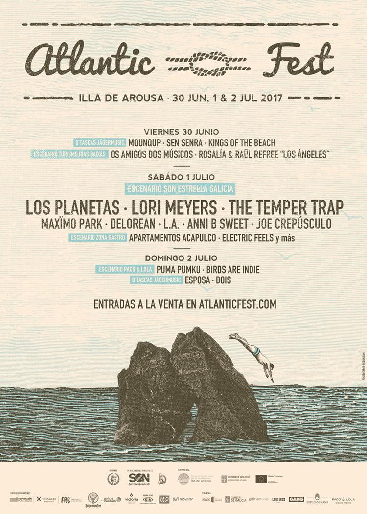 Atlantic Fest 2017 (cartel)