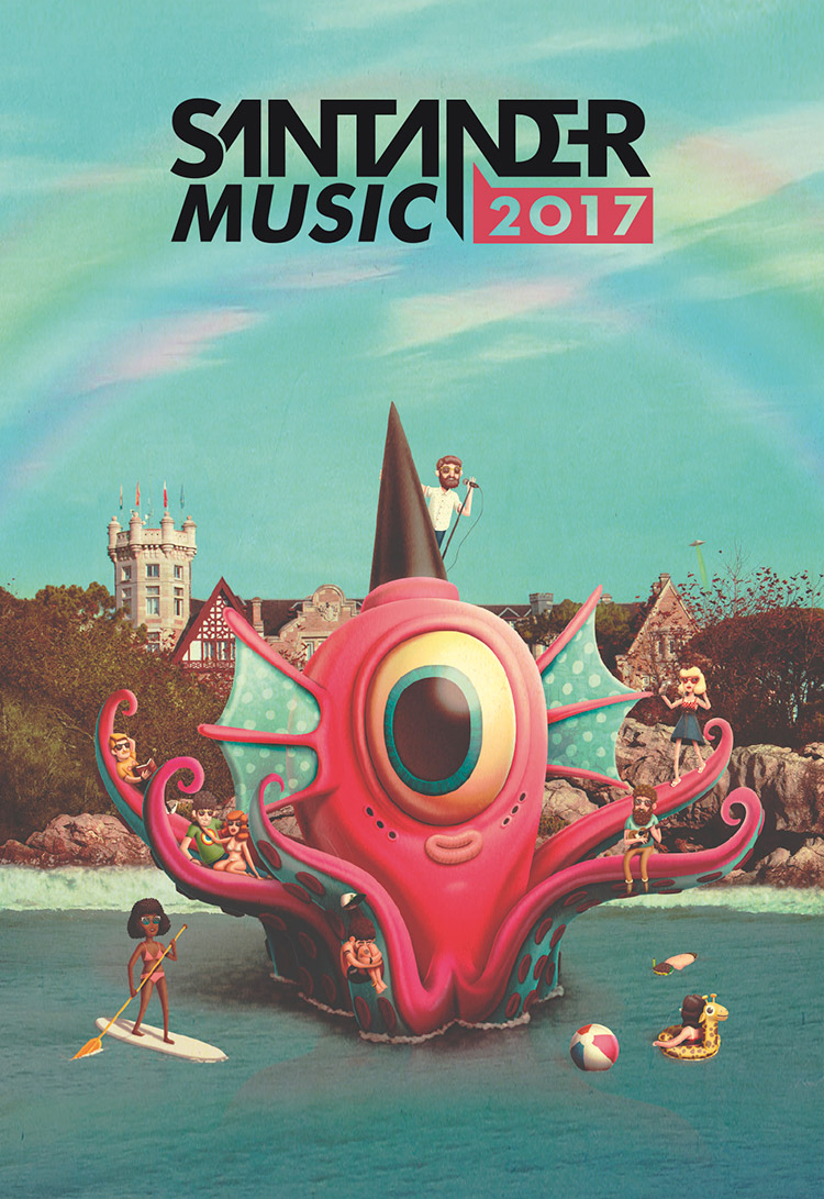 Santander Music 2017 by Bakea