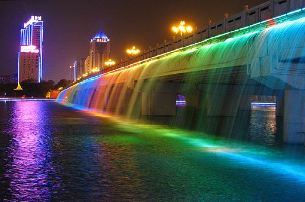 banpobridgeinseoulsouthkorea4 13 Beautiful Fountains Around The World