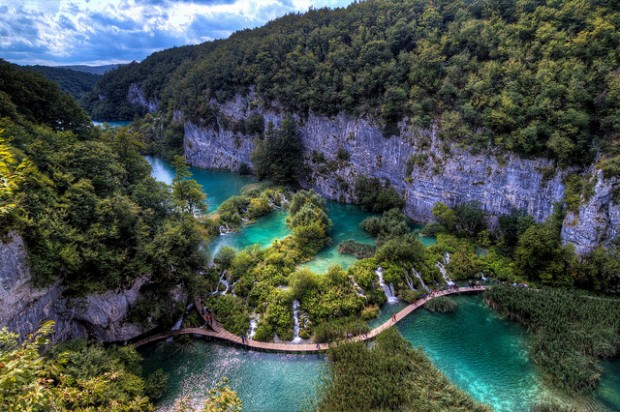 Plitvice Lakes Croatia1 15 Beautiful Places and Landscapes of our Wonderful World