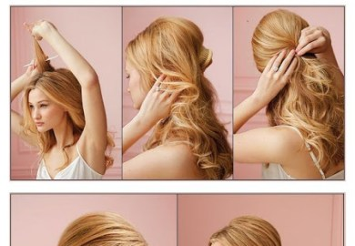 Cute Hair Styles For Medium Hair Low Ponytail Hairstyles Via