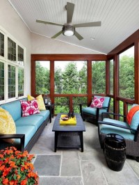 16 Adorable Colorful Porch Designs For Creating A ...