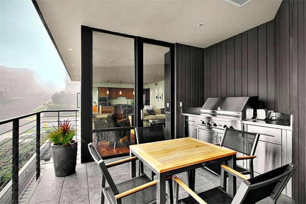outdoor kitchen bbq top mount sinks 10 remarkable ideas for terrace