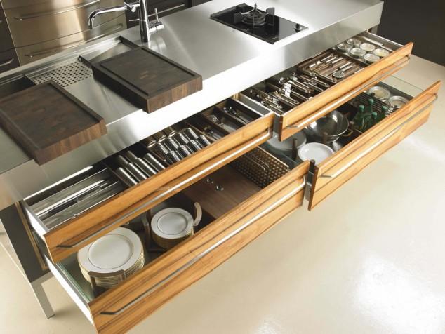 2 de Apple 4 Lámina de fresno w 634x476 17 Ideas creativas que pueden ayudarle a ahorrar algo de espacio en su cocina