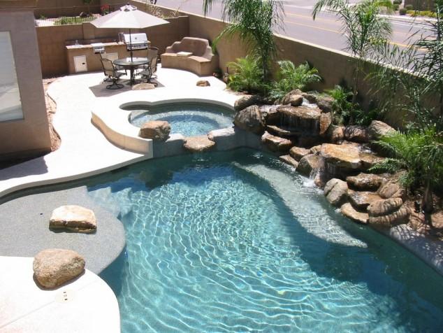 diseñar su propia piscina decorar 2 Zeucc 634x476 10+ Ideas para maravillosas piscinas Mini la natación en su patio trasero