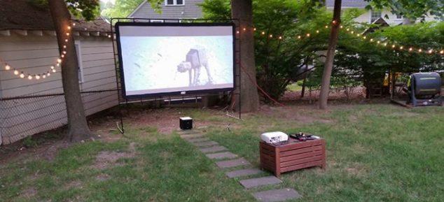 20140711 200528 engranajes y pantalla de 634x289 12 Cine al aire libre Ideas para la tarde de verano romántico