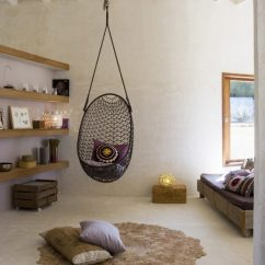 Swing Chair With Stand Outdoor Arm Ottoman 15 Indoor Hammock And Relaxing Swings To Forget About The Bad Things