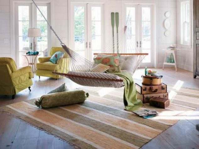 15 Indoor Hammock And Relaxing Swings To Forget About The
