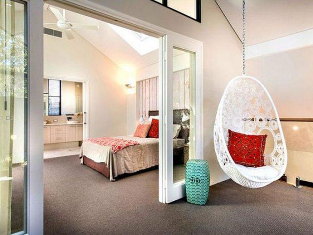 Sillas hamaca para el dormitorio 5 15 634x476 Hamaca cubierta y columpios relajante para olvidarse de las cosas malas
