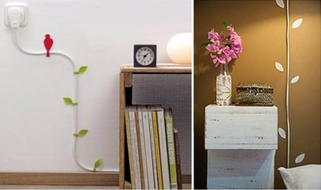 hiding tv in living room small end tables 12 ways how to hide electrical cords and create cable ...