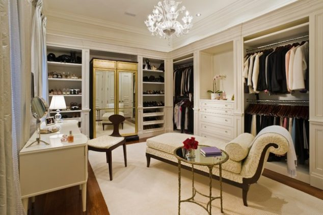 traditional closet 634x422 12 Glamorous Dressing Room Closet Ideas For The Ladies