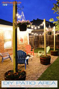 10+ Urban DIY Backyard and Patio Lighting Ideas