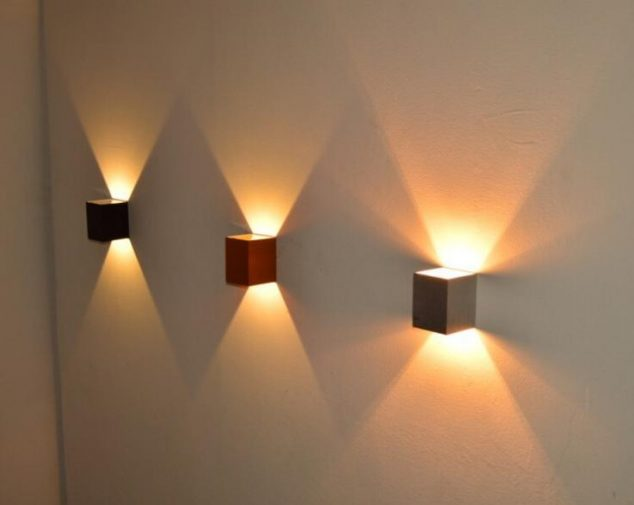 designer wall lighting led wall light lights up your indoor and outdoor space on wall design pic 634x505 15 Impressive Wall Lamp Design to Bless the Walls in The Living Place