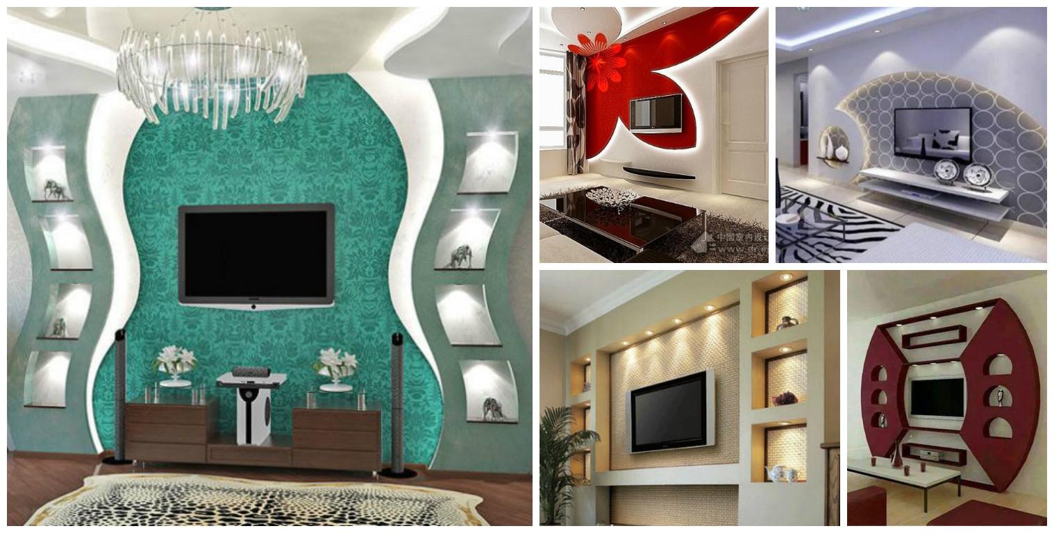 16 Sensational Gypsum Wall Decoration That You Will