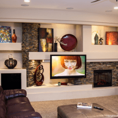 Brilliant Ideas For Decorating Your Living Room Leather Sofa Houzz 14 Breathtaking Gypsum Board And Niches Tv Wall Unit