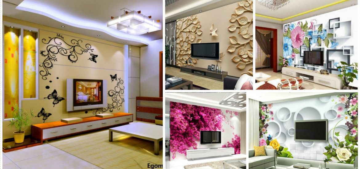 3d Wallpaper Designs For Hall 12 3d Wallpaper For Tv Wall Units That Will Make A Statement