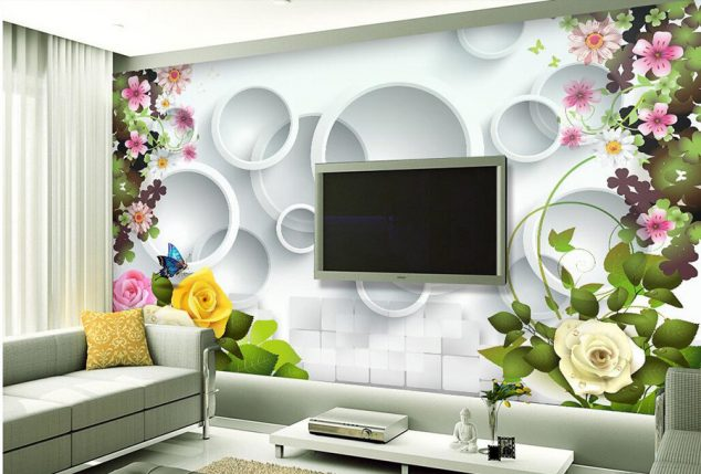 3d Modern Wallpaper Designs 12 3d Wallpaper For Tv Wall Units That Will Make A Statement