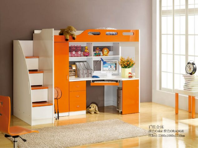 15 Multi Functional Kids Bed With Desk To Inspire Your