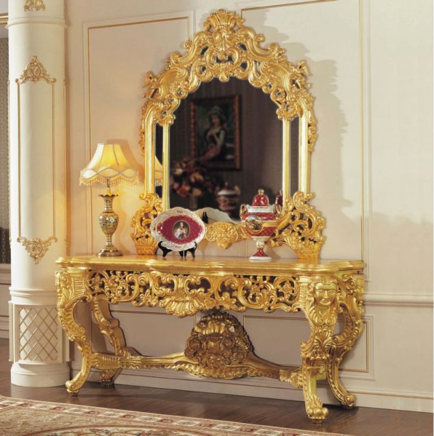 15 Luxury Golden Furniture Ideas To Make Your Day