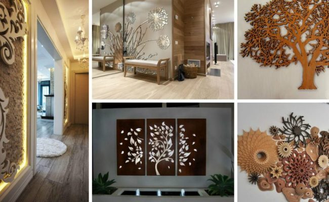 The Beauty Of Laser Cut Wall Decor Will Hypnotize You