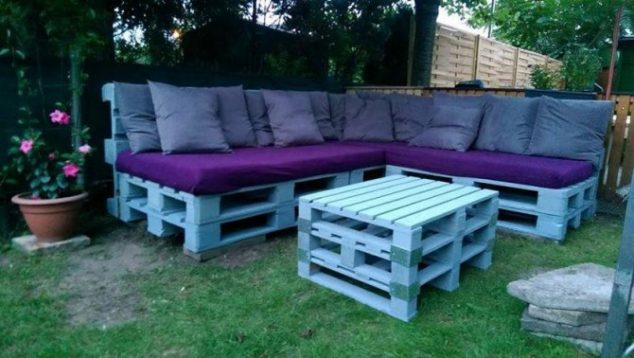 Patio Furniture Made From Wood Pallets Stunning Diy Outdoor