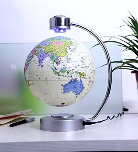 Mappamondo Magnetico a Levitazione