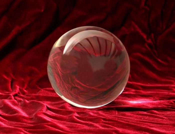 Sfera di cristallo da 15 cm