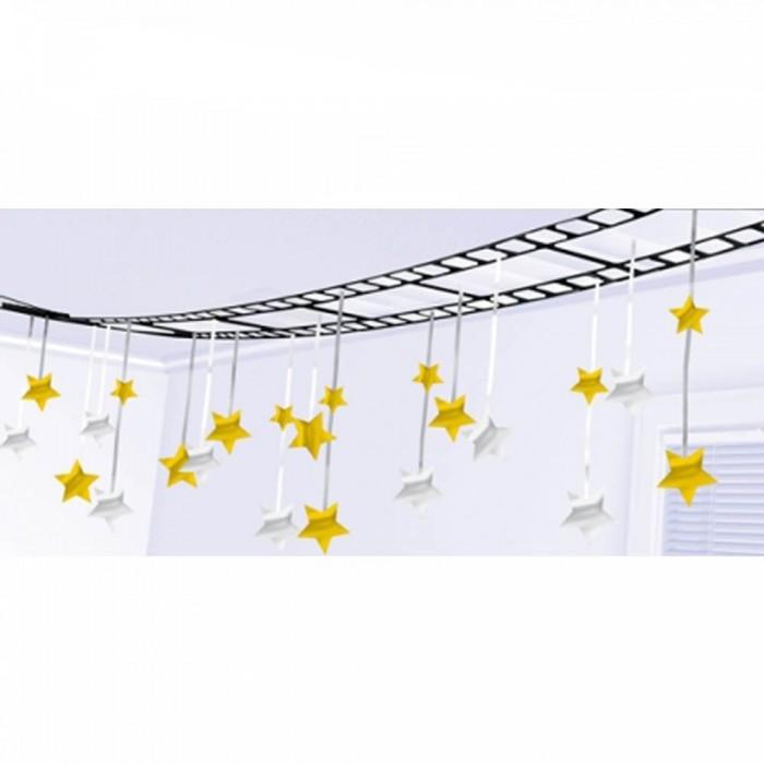 Festone da soffitto Pellicola cinematografica con stelle