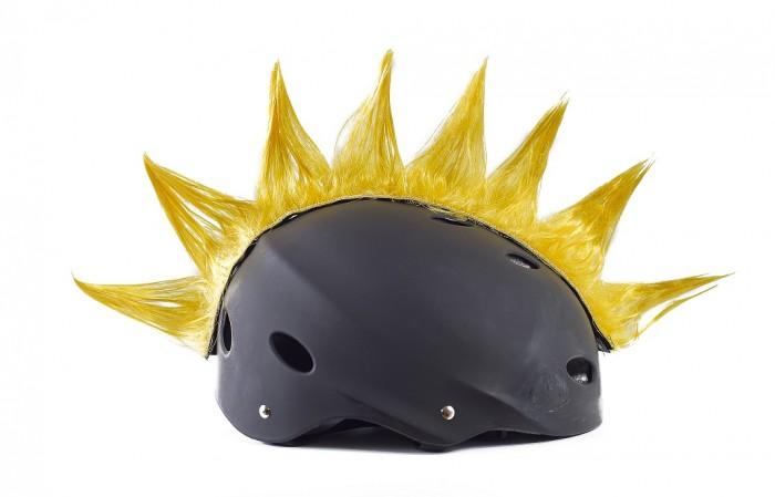 Wiggystyle Spike Giallo cresta per casco
