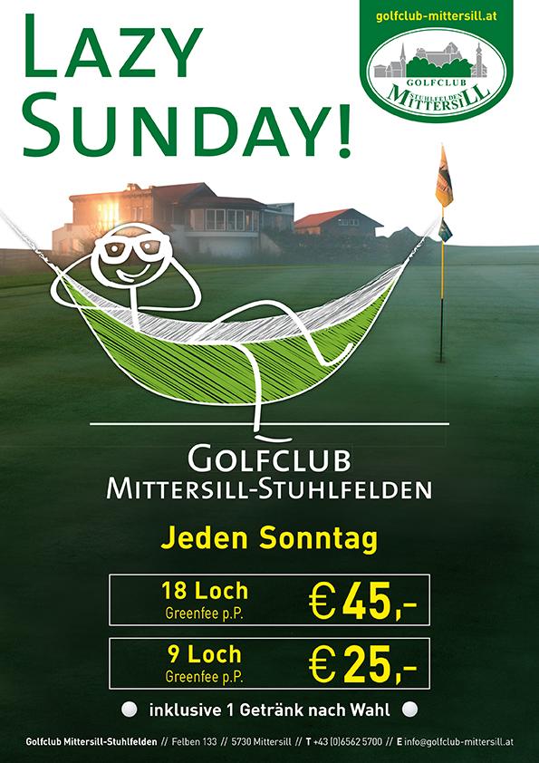 Golfclub Mittersill Lazy sunday