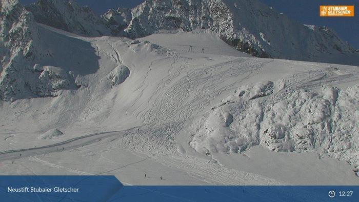 Stubaier gletsjer 12 okt 2016