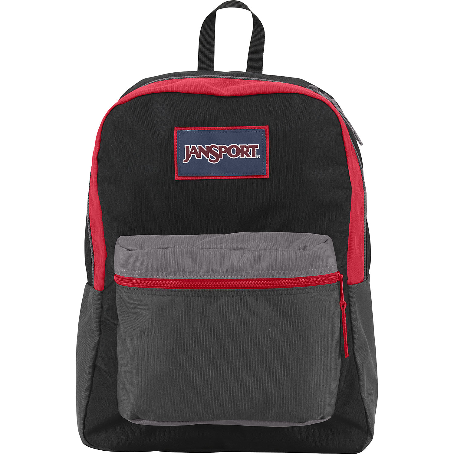 Image result for jansport backpacks black and red