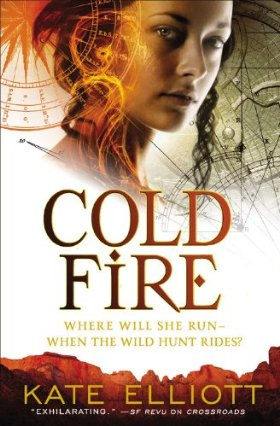Kate Elliot Cold Fire cover