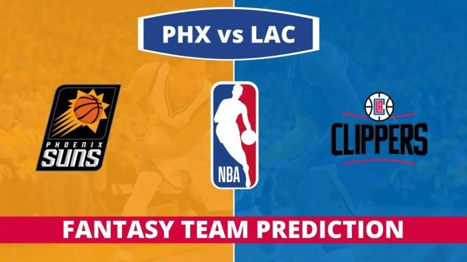 PHX vs LAC Dream11 Basketball Prediction