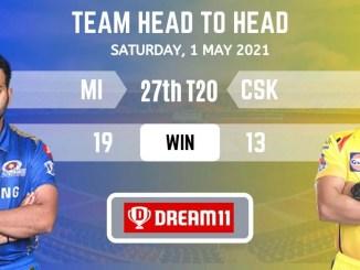 MI vs CSK Dream11 Grand League Team