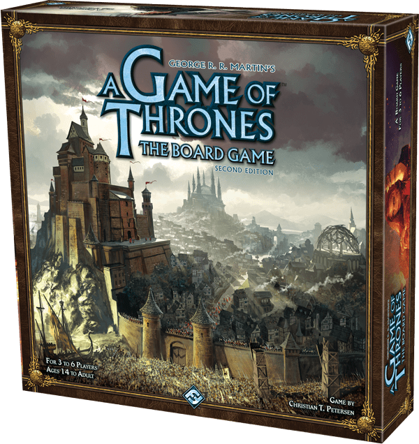 Regras já disponiveis para o A Game of Thrones: The Board Game Second Edition