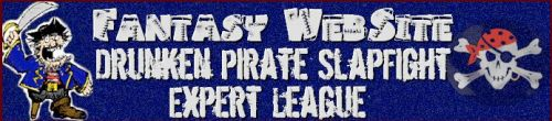 Fantasy Website Drunken Pirate Slapfight Expert League