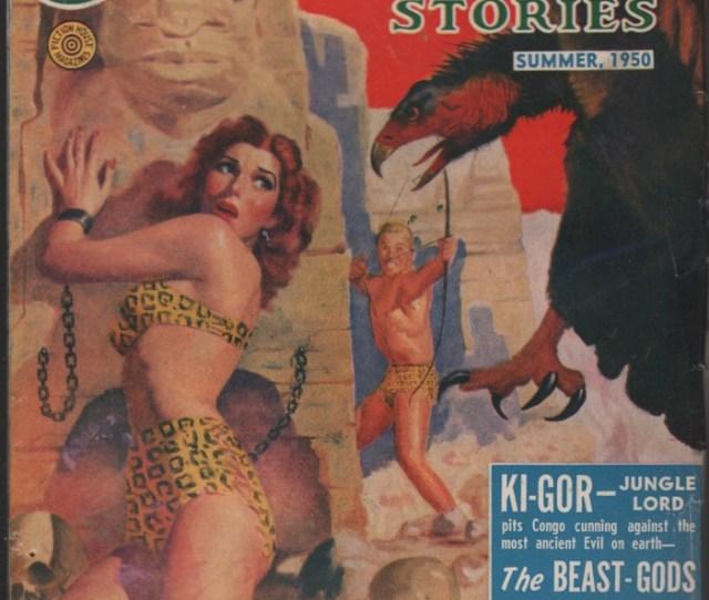 Image For Jungle Stories 1950 Summer Bondage Cover