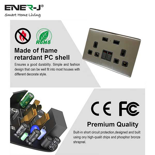 13A-WiFi-Twin-Wall-Sockets-with-2-USB-Ports-Silver 3