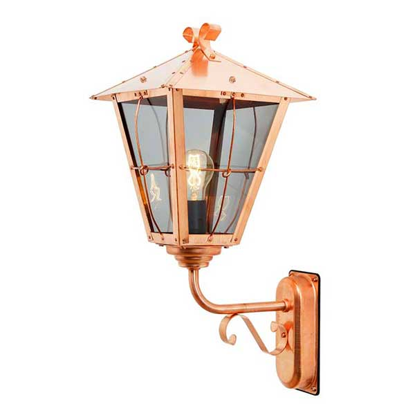 Copper Outdoor Wall Light
