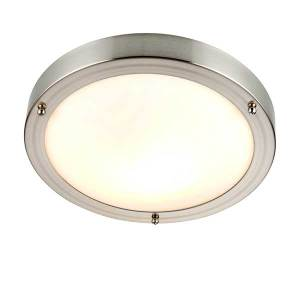 Nickel Ceiling Light