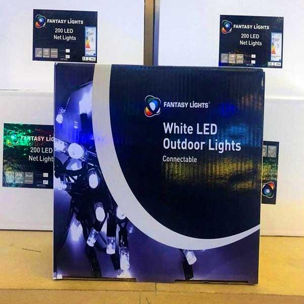 White LED Outdoor Lights