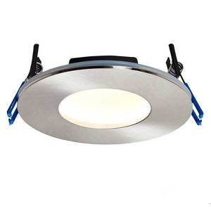 Satin Nickel Ceiling Light