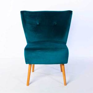 Chloe Brussels Petrol Chair