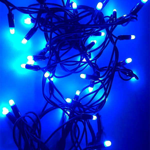 Christmas LED Lights Blue