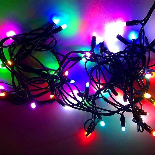 Christmas LED Lights Multicoloured