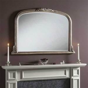 Mantle Silver Mirror